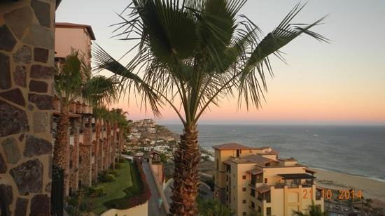 Pueblo Bonito Sunset Beach: sunset from our terrace. . . absolutely beautiful!
