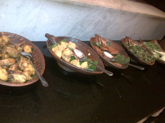 Hotel Novotel Lampung: menu traditional