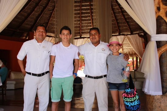 Bel Air Collection Resort & Spa Los Cabos: a photo with Ignacio and Victor On the last day