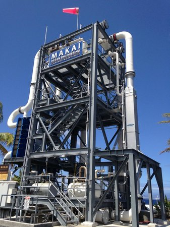 Friends of NELHA : Ocean Thermal Energy Conversion Tower