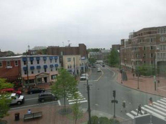 Harvard Square Hotel : 216号室からの眺め。