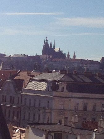 Design Hotel Josef Prague: Vistas desde la suite