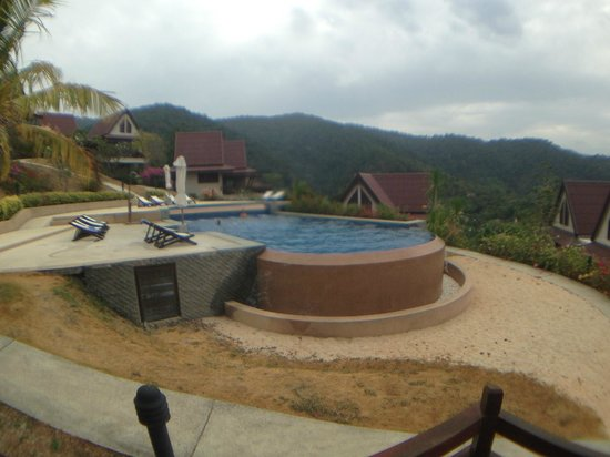 Baan KanTiang See Villa Resort: View from Red house