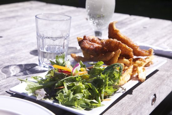 Furneaux Lodge : Fish and Chips