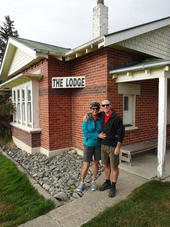 Otago Central Rail Trail: Wedderburn Lodge - classic!
