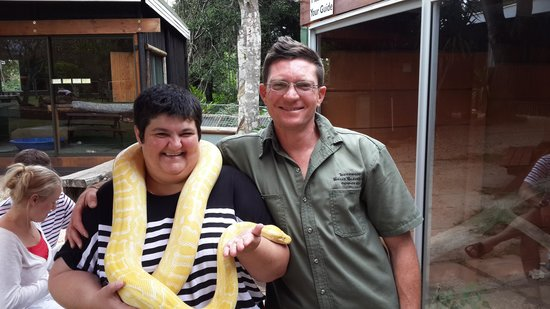Lawnwood Snake Sanctuary: Mike and me