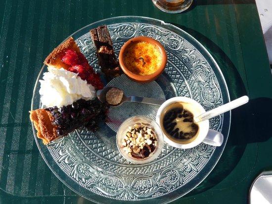 Le Vaffieu: Cafe Gourmande, 9 euros