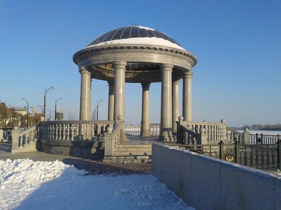 Far Eastern District, Russia: ротонда на набережной