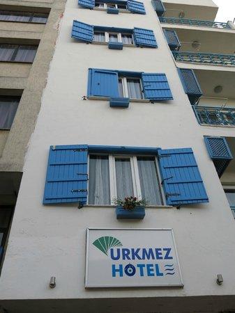 Urkmez Hotel: Entrance