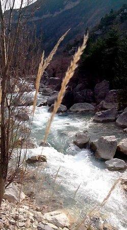 Le Sareymond: la rivière Drôme