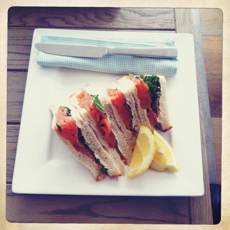 Boskerris Hotel: sandwich