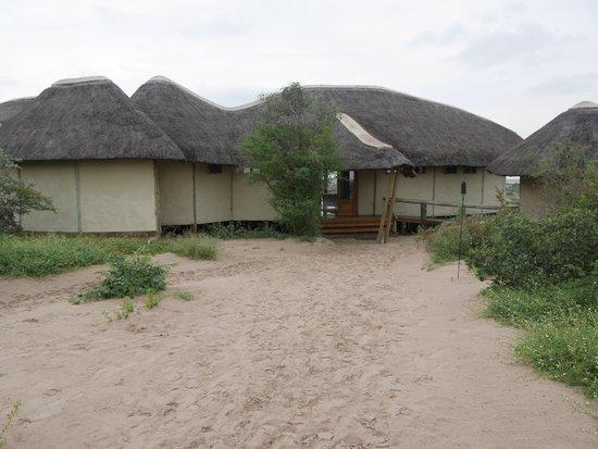 Tau Pan Camp - Kwando Safaris: The Tau Pan main lodge