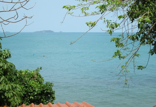 Vimarn Samed Resort: view on the sea