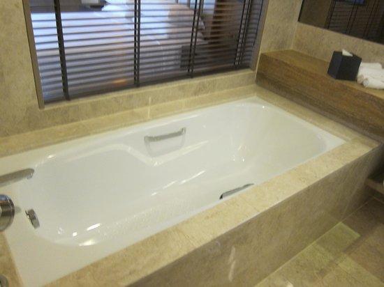 Hilton Petaling Jaya Hotel: Tub's clean!