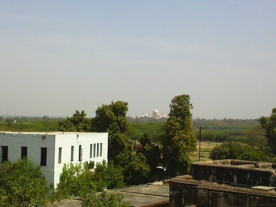 Sun Hotel Agra: View from the room