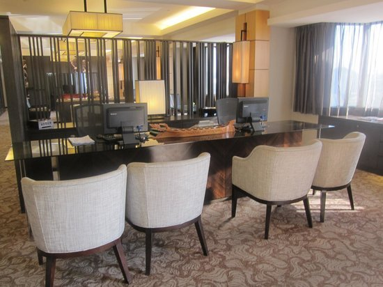Hilton Petaling Jaya Hotel: Executive Lounge reception area