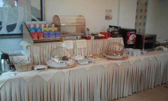 Best Western Hotel Europa: La colazione a buffet