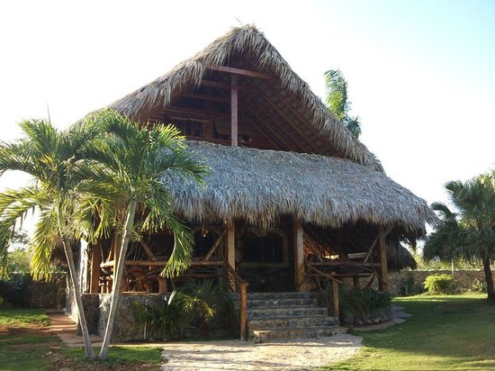 Chalet Tropical Village: House where we stayed