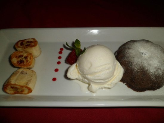 Art Cafe Sanur: Chocolate Molten Lava Cake