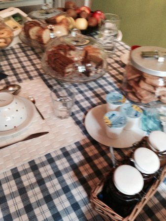 19 Borgo Cavour: Colazione..