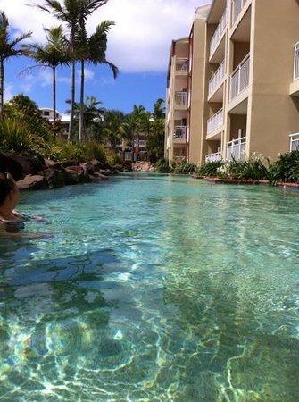 Breakfree Alexandra Beach Premier Resort : From the lagoon