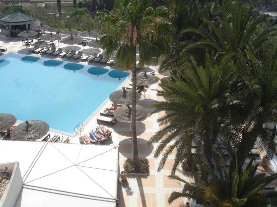 Royal Mirage Agadir Hotel : piscine vue du balcon