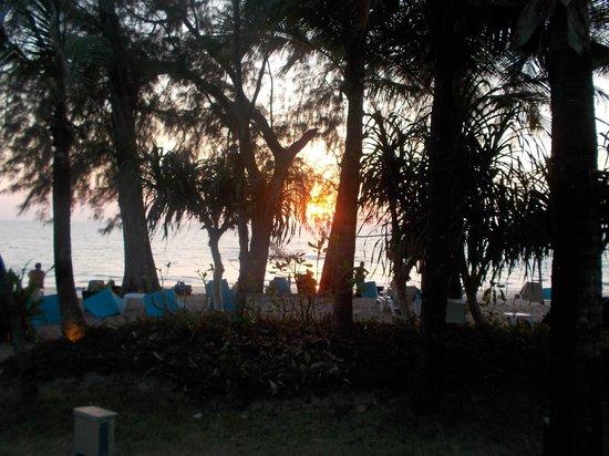 Natai Beach Resort & Spa, Phang-nga: beach view