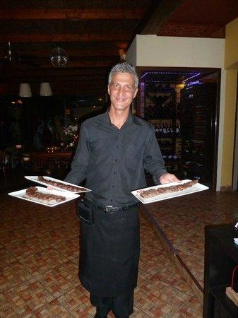 Tehuelche Grill Argentino : Super freundlicher Kellner