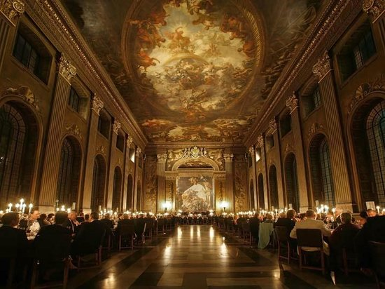 Old Royal Naval College: Painted hall (from their website)
