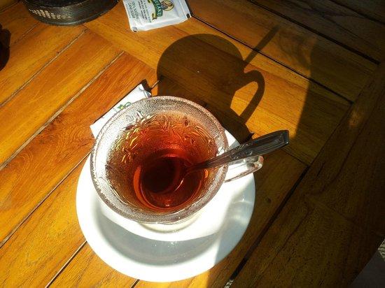 Jati 3 Bungalows: Colazione con The