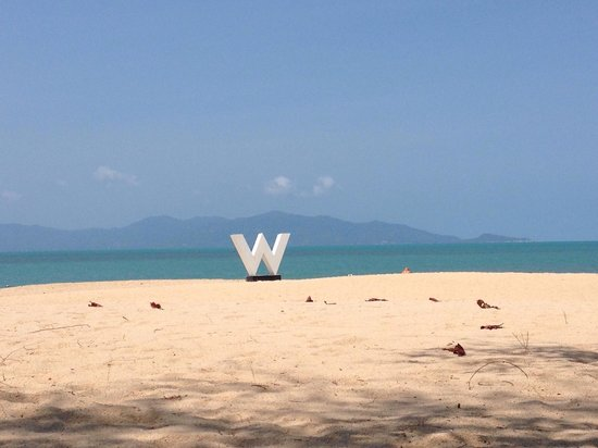 W Retreat Koh Samui: Plage