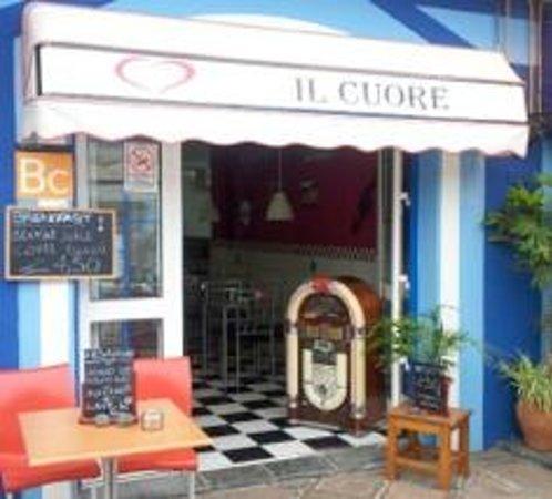 Restaurante il Cuore: Fachada