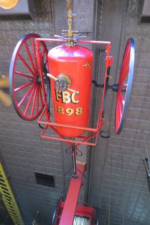 Firehouse Brewing Co. : Fire Pump Close Up (really up !)