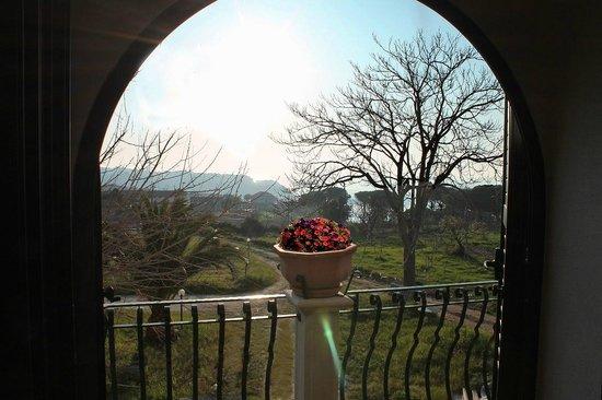 Feudo di Plutino: Panorama camera Melville