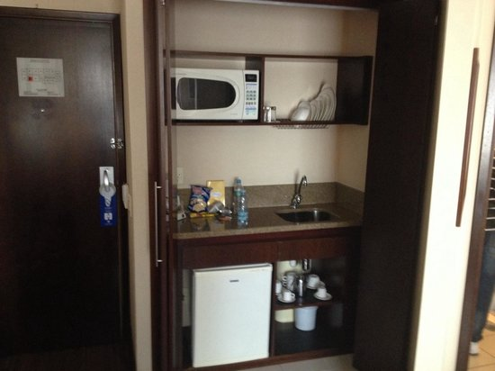 Transamerica Prime International Plaza : Mini cozinha