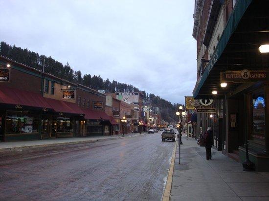 Historic Old Town: Main Street Deadwood SD
