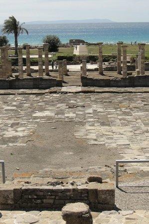 Conjunto Arqueológico Baelo Claudia: Vista del Foro y Basílica en Baelo Claudia