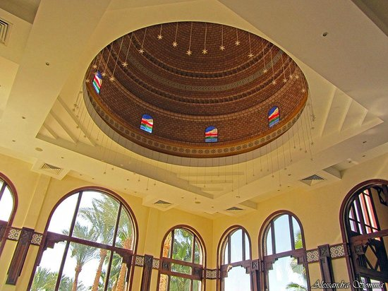 Faraana Reef Resort : cupola reception