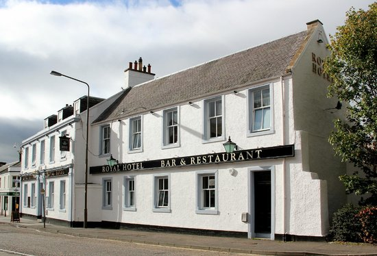 The Royal Hotel: Our Restaurant external view