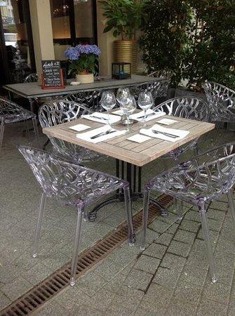 Restaurant Bellagio: ons terrasje