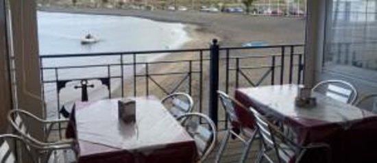 Restaurante il Cuore: Terraza cara al mar