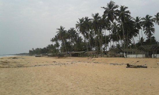 La Cote Du Repos : Beach Area