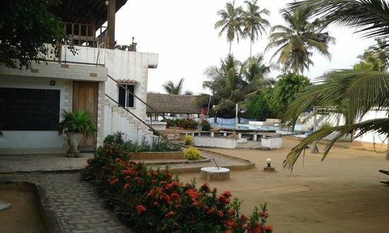 La Cote Du Repos : Hotel Yard