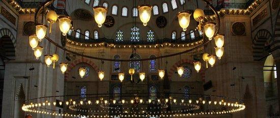 Süleymaniye-Moschee: Interior view
