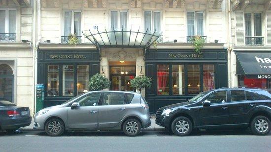 New Orient Hôtel : Entrada principal Hotel - Fachada