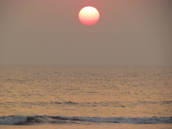 Subhan Beach Resort: Sunset