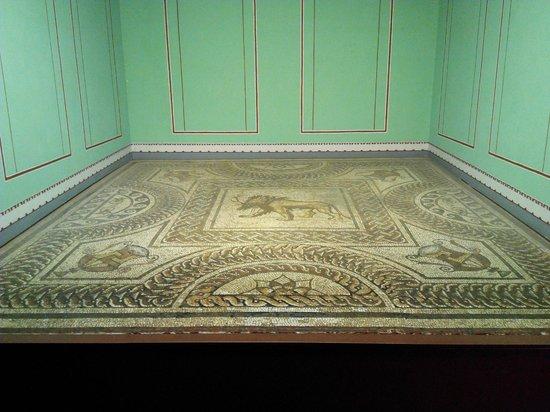 Verulamium Museum: Origianl flooring