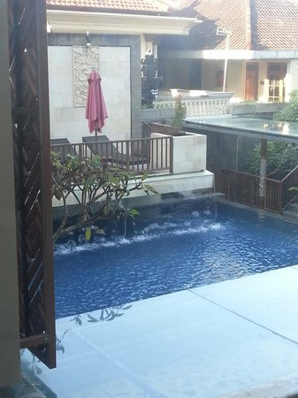 Hotel Horison Seminyak : View from Room
