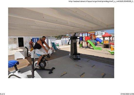 palestra - Foto di Spiaggia 47 Riccione, Riccione - TripAdvisor