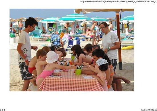 Spiaggia 47 Riccione: attività ludiche